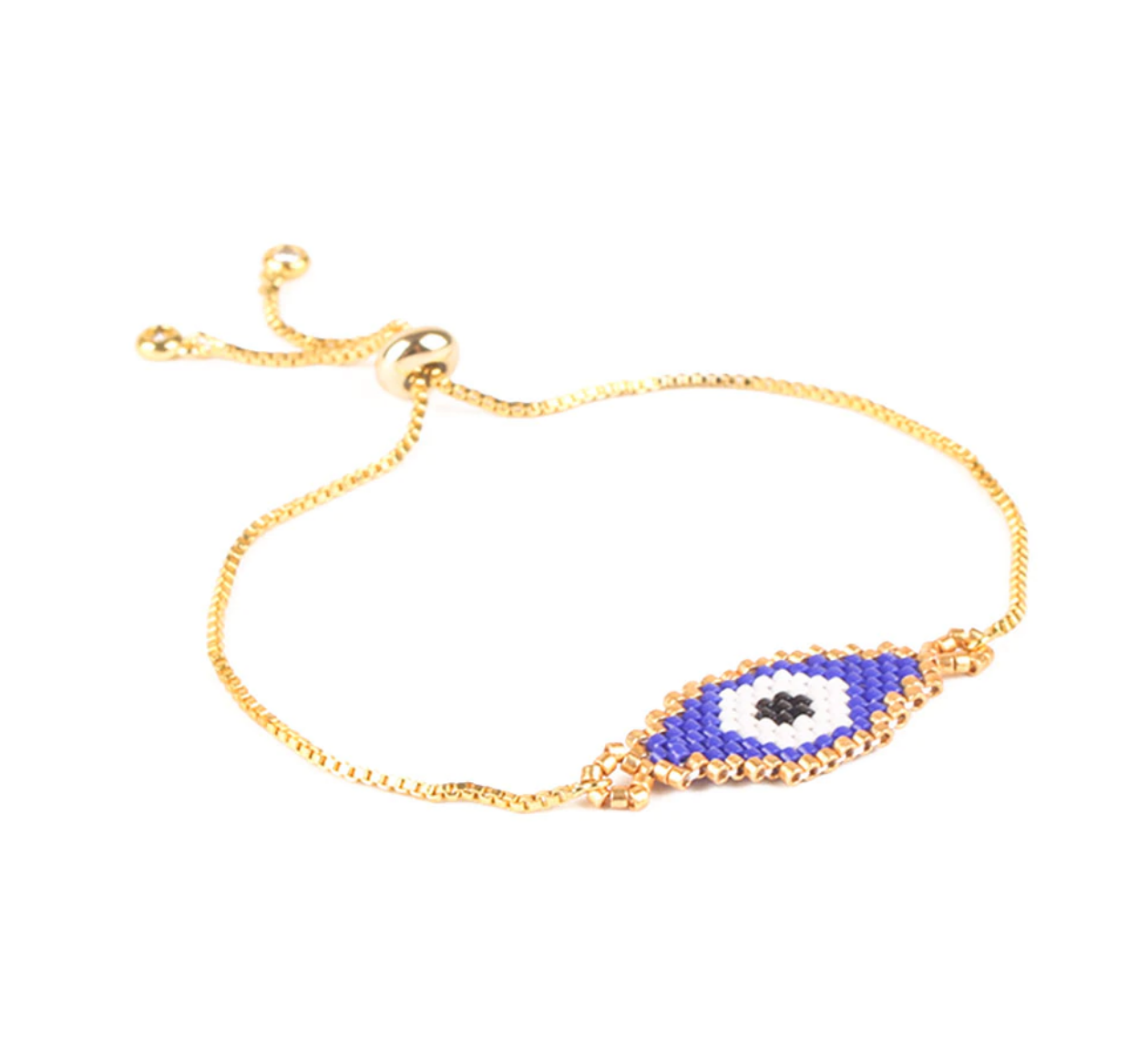 """Protection""  Evil Eye Bracelet - Bon Voyage"