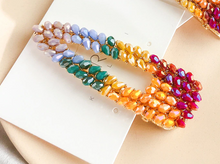 Load image into Gallery viewer, Rainbow Multicoloured Hair Clip