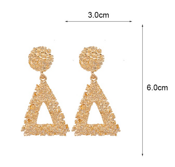 Havanah Gold Earrings