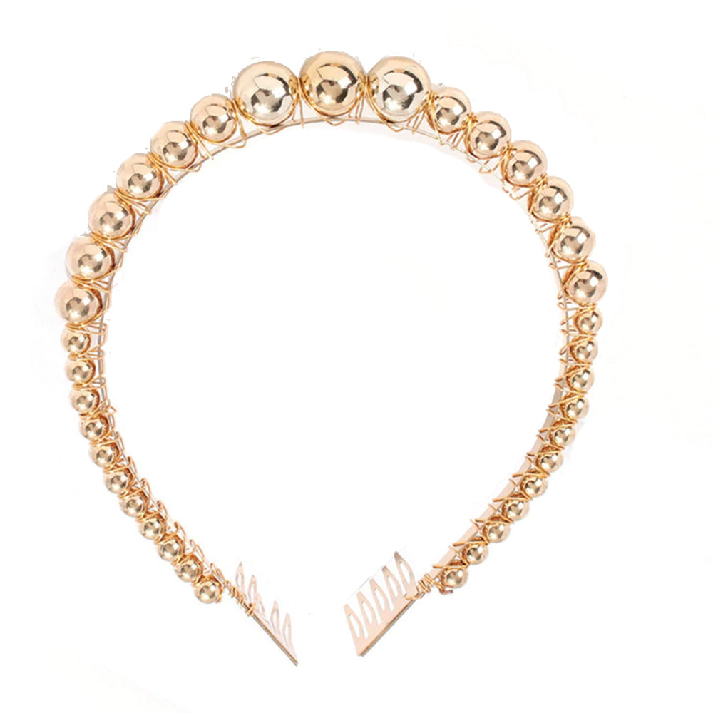 Valentina Gold Crown Headband