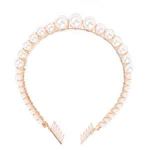 Valentina Pearl Crown Headband