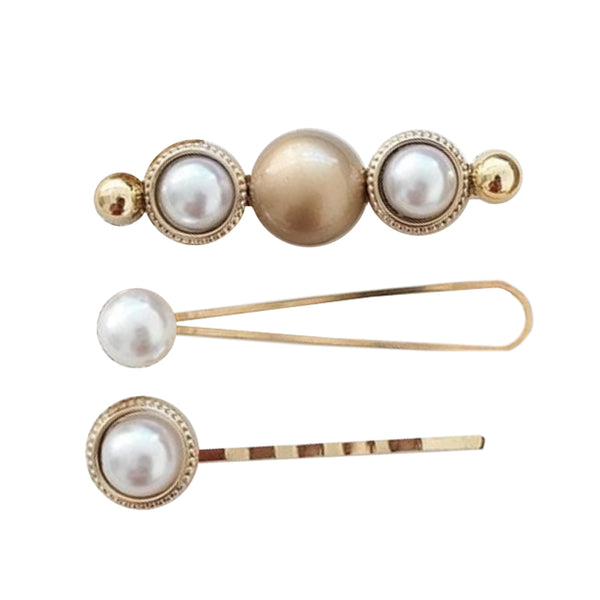 Mimi Pearl Hair Slide Set