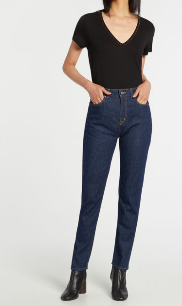 SCOTCH AND SODA — Jean slim stretch taille haute brut - Duckstore_narbonne