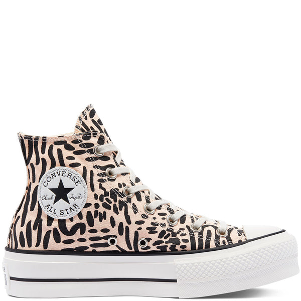 Chuck Taylor All Star Graphic Print Platform - Converse