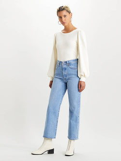 RIBCAGE STRAIGHT ANKLE JEANS Tango Gossip - Neutral