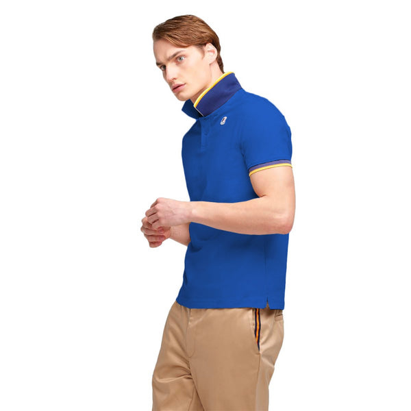 VINCENT CONTRAST POLO - K-WAY