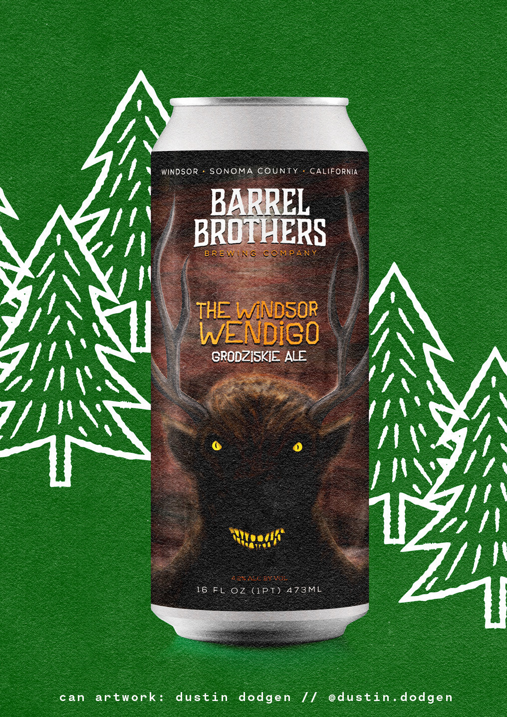 the windsor wendigo by barrel brothers brewing coompany
