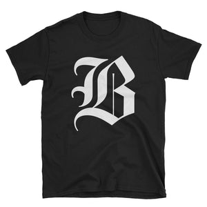 "The Boston Globe Classic ""B"" tee (Black)"