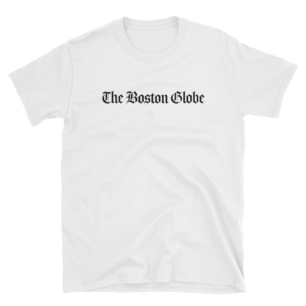 The Boston Globe Full Logo T-shirt (White)