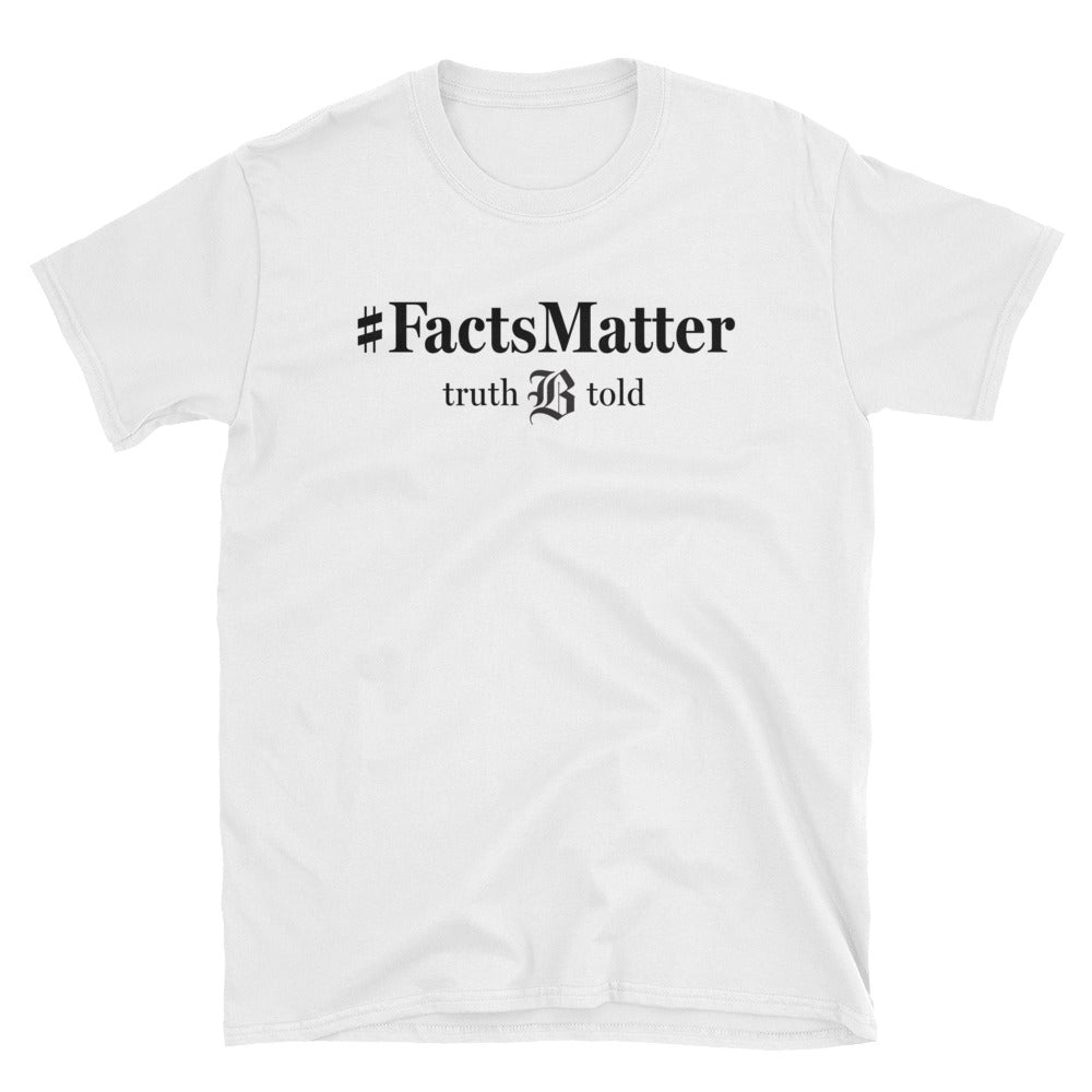 #FactsMatter Boston Globe T-shirt (White)