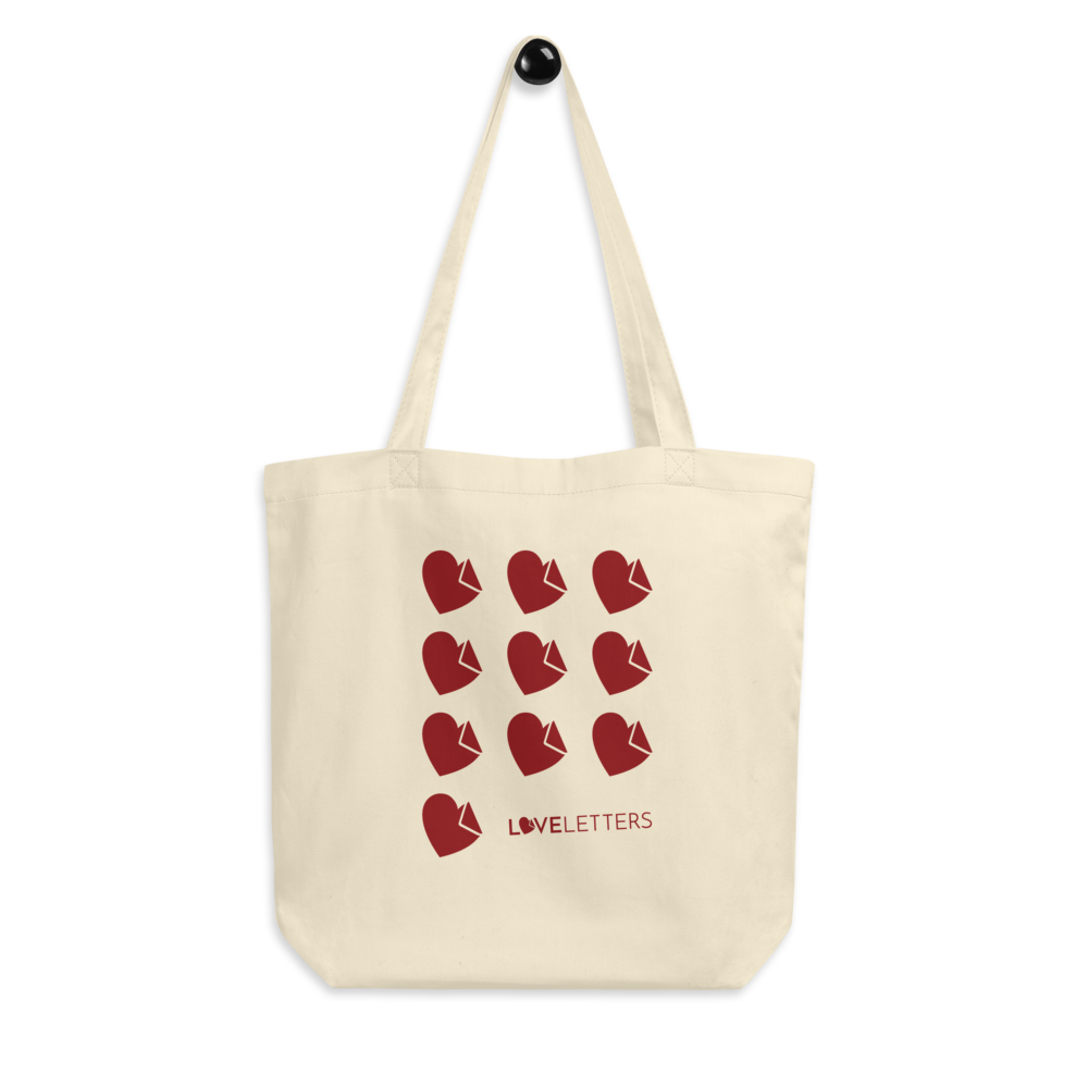 10 Hearts Love Letters Tote