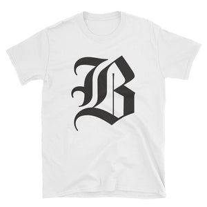 "The Boston Globe classic ""B"" Tee (White)"