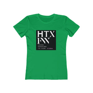 Houston Fashion Week XI Edition Women's The Boyfriend Tee