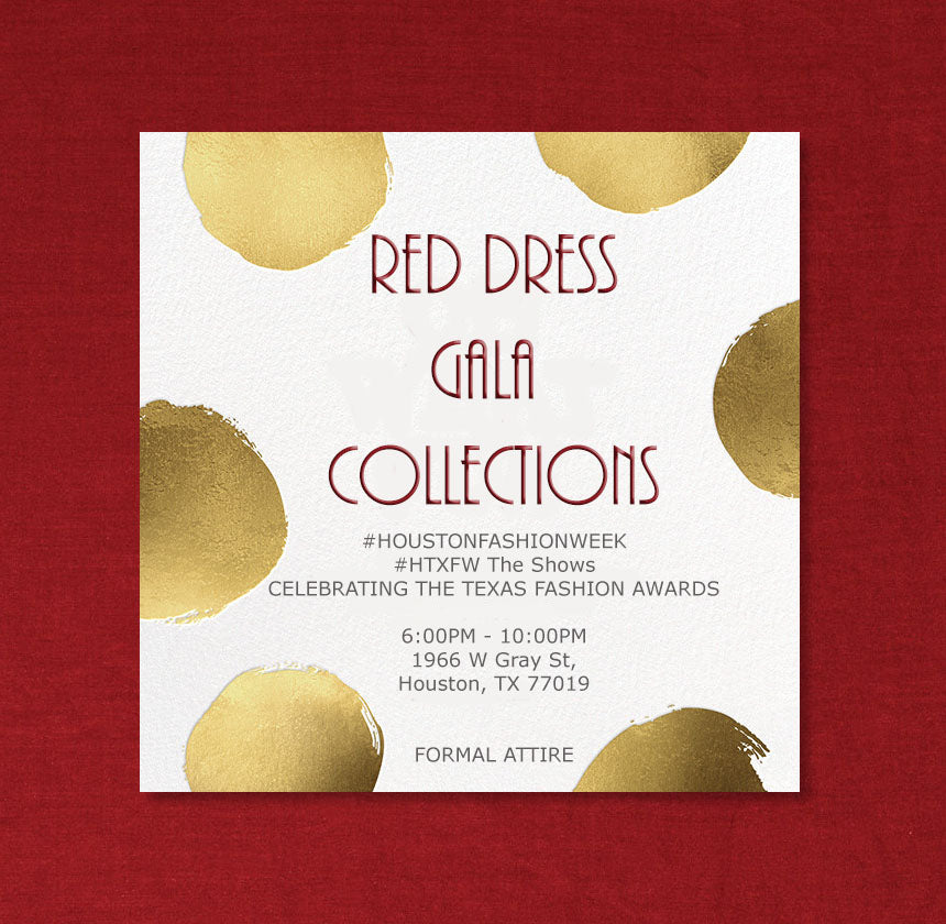RED DRESS GALA COLLECTIONS 2020 FASHION SHOW SUPPORTER TICKET
