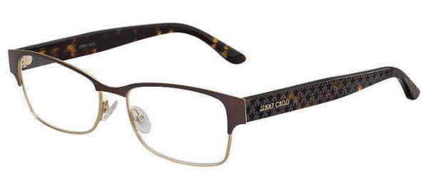 Jimmy Choo jc206 fg4 brwngold | Optical Express