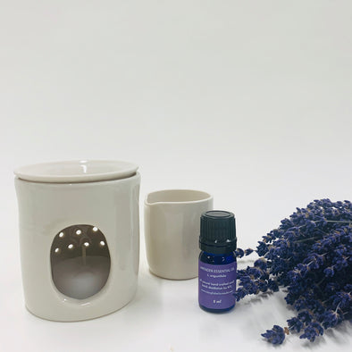 Essential Oil Burner Gift Set
