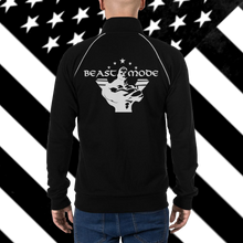 Load image into Gallery viewer, Unisex Beast Mode Piped Fleece Jacket