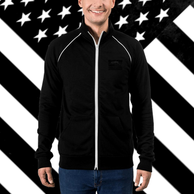 Unisex Beast Mode Piped Fleece Jacket