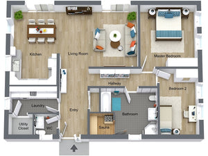 3D Digital Floor Plan Packages