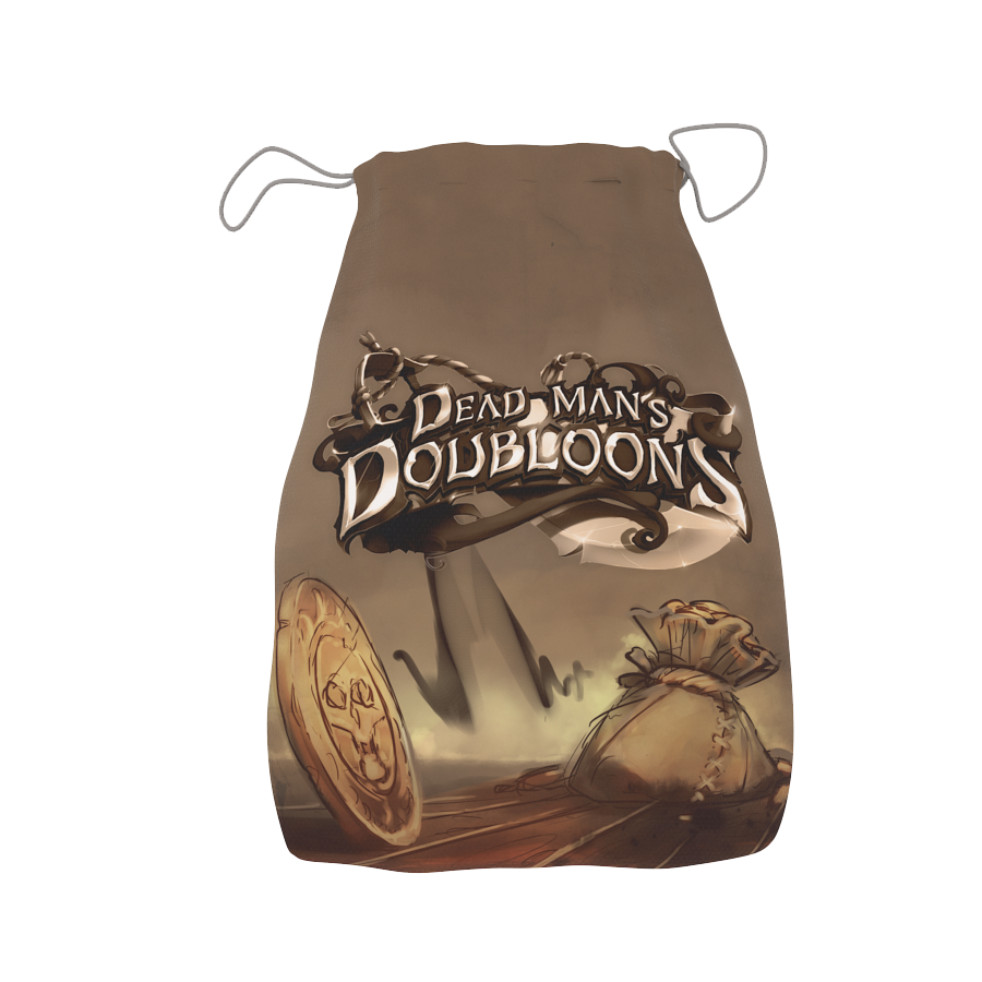 Dead Man's Doubloons Cottong Bag