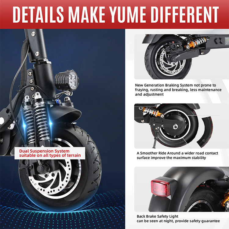details of d4 electric scooter
