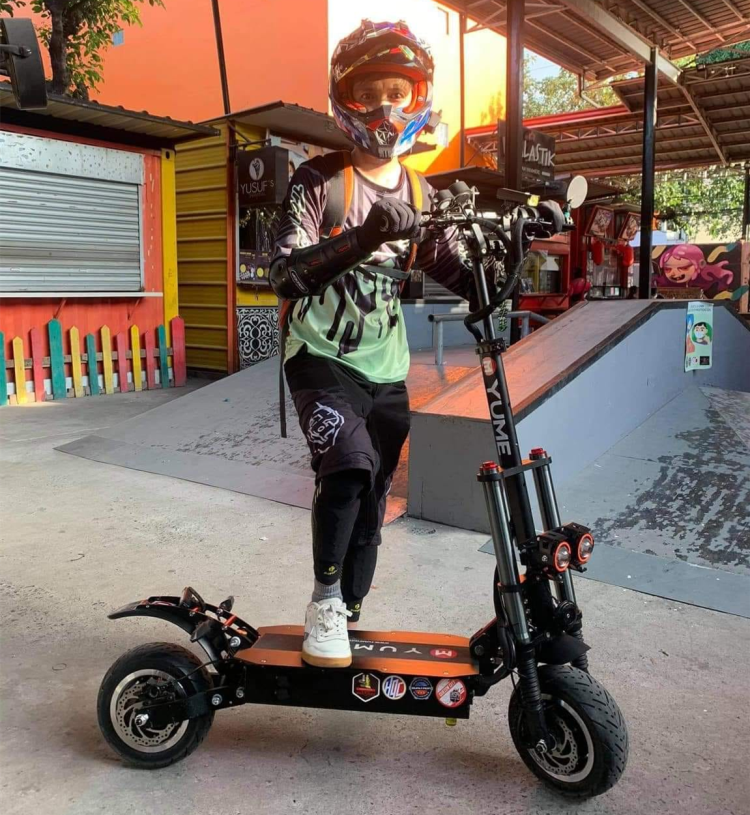 yume electric scooter