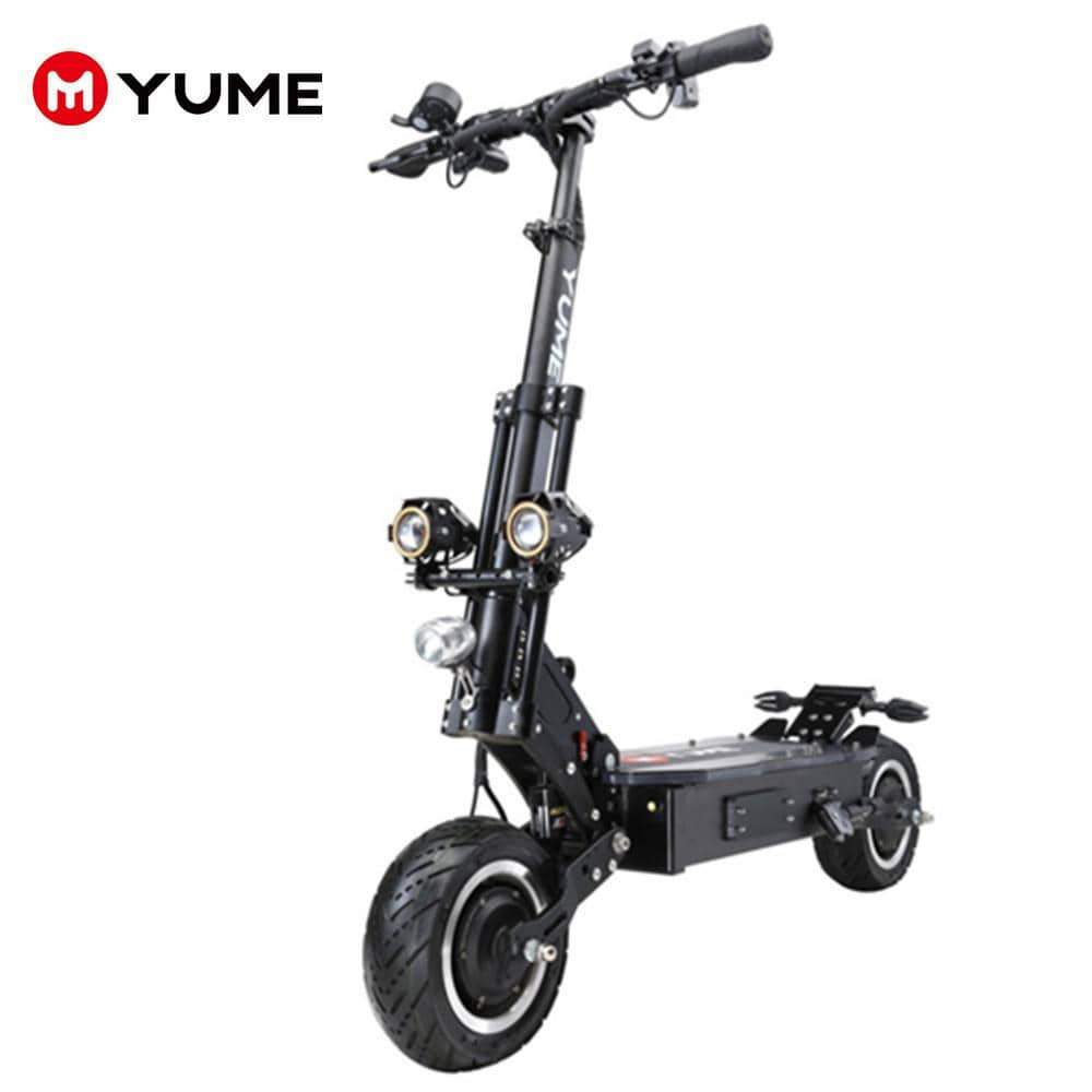 "X11 ELECTRIC SCOOTER 11""-5000W-60V 30/38.5Ah-60MPH And 50/69Miles - YUME ELECTRIC SCOOTER"