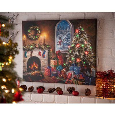 Embellish Your Room with Canvas Artwork to Make Your Christmas Distinctive