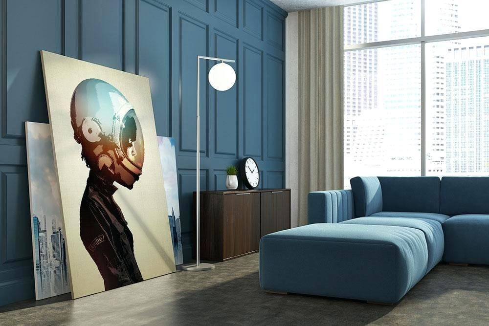 HOW TO DECORATE YOUR WALLS WITH FINE ART PRINTS