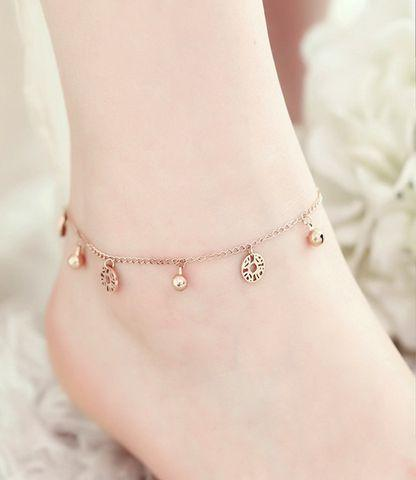 Gold Anklet for Women