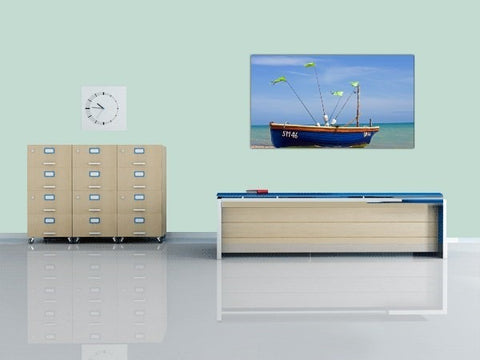 boat and sea canvas