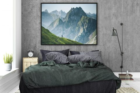 Wall art ideas for bedrooms
