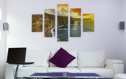 Tips for picking canvas and wall art at home