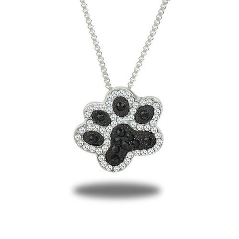 dog feet necklace