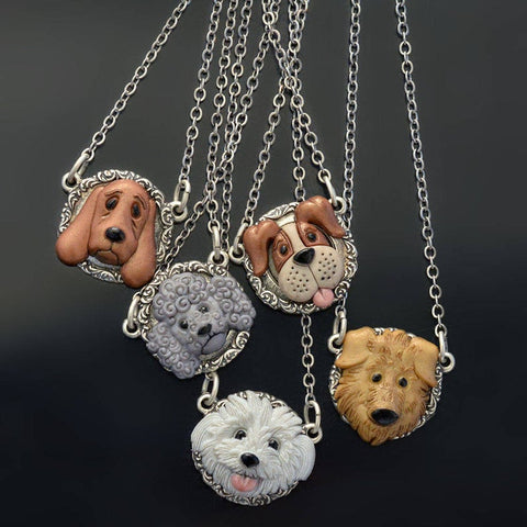 Combo dog necklace