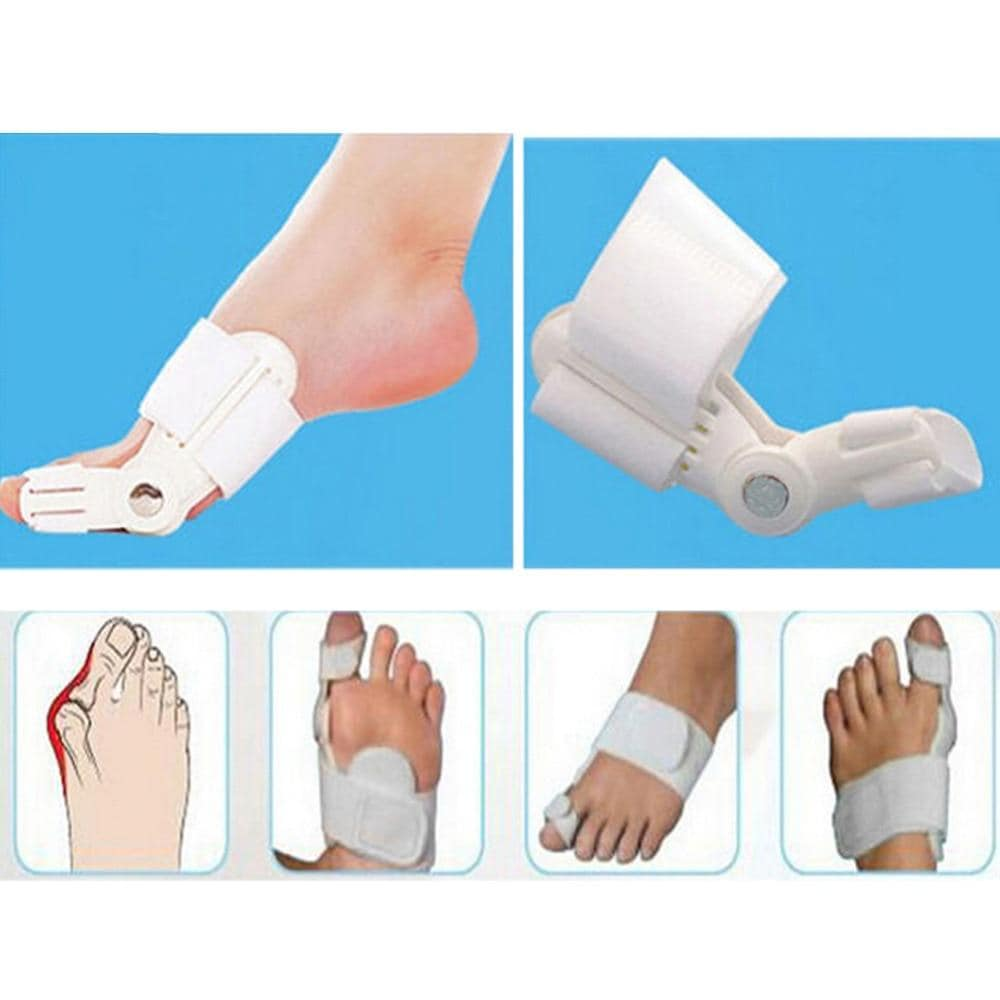 Bunion Splint Big Toe Straightener Corrector Foot Pain Relief Hallux Valgus Correction Orthopedic