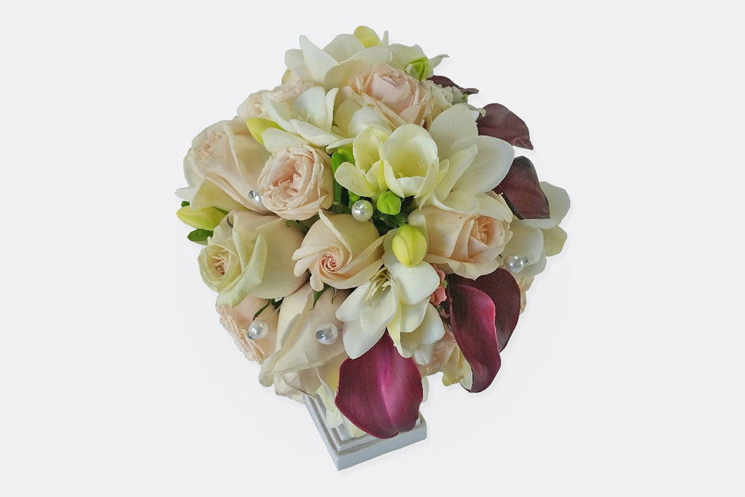 Calla Rose Bouquet
