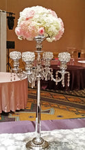 Candelabra with Florals