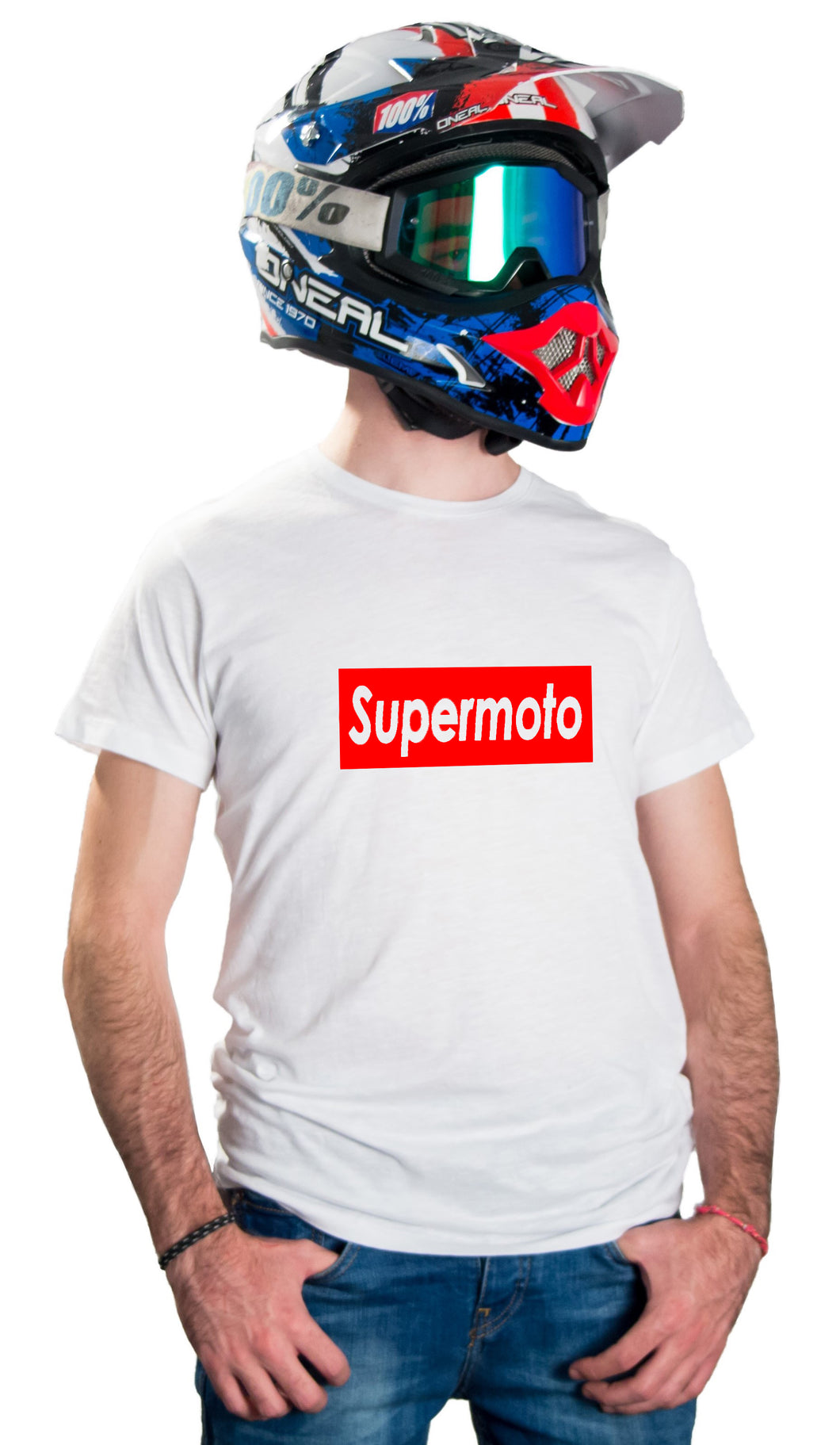 SUPERMOTO - WHITE T-SHIRTS