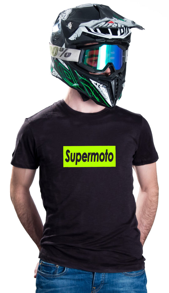 SUPERMOTO - BLACK T-SHIRTS