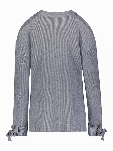 Taylor Cold Shoulder Sweater