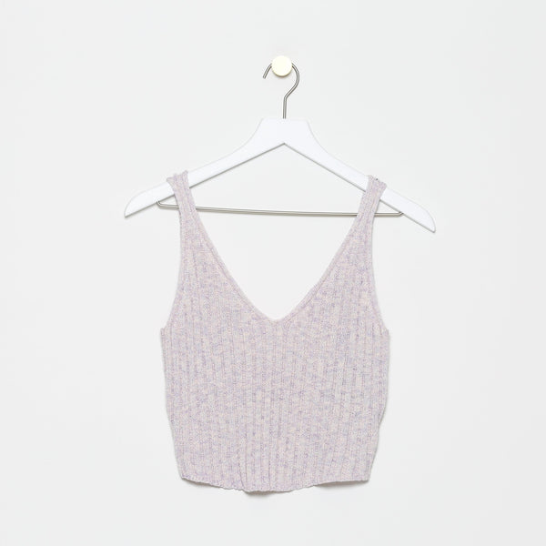 Bon-Secours Knit Crop Top