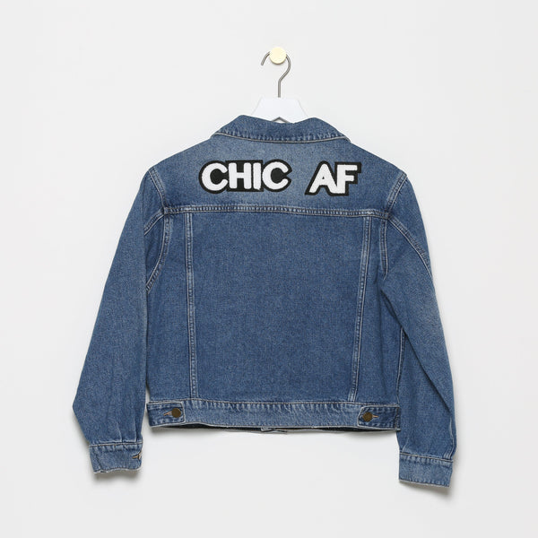 Rue St-Ferreol Oversized Denim Jacket