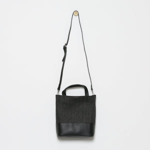 Magdaleine Rattan Mini Bucket Bag