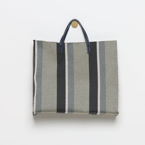 Augustine Striped Structured Tote