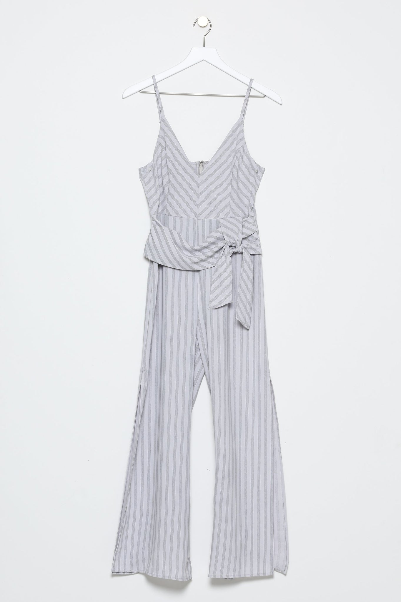Saint-Lazare Jumpsuit With Slit Leg