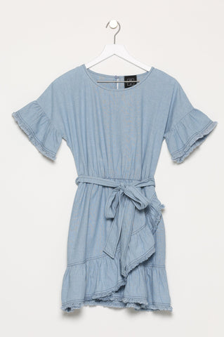 Allauch Denim Chambray Dress