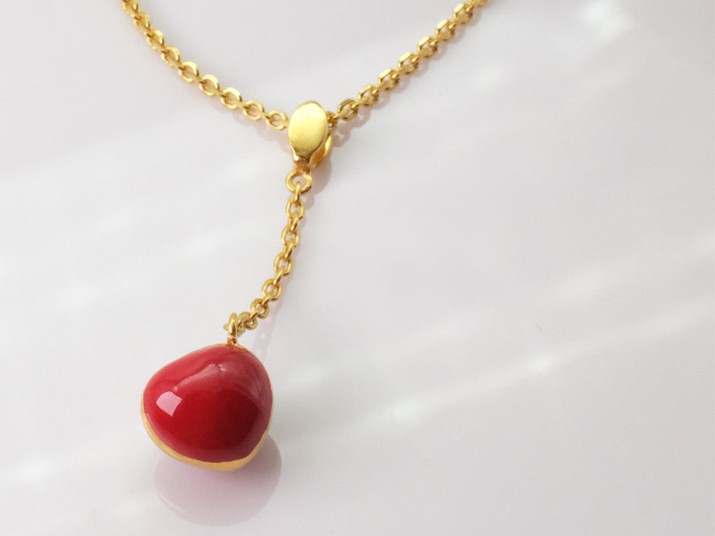 Ian Kwan - Ume - Dou : Gold vermeil pendant jewellery inspired by nature. www.iankwan.com