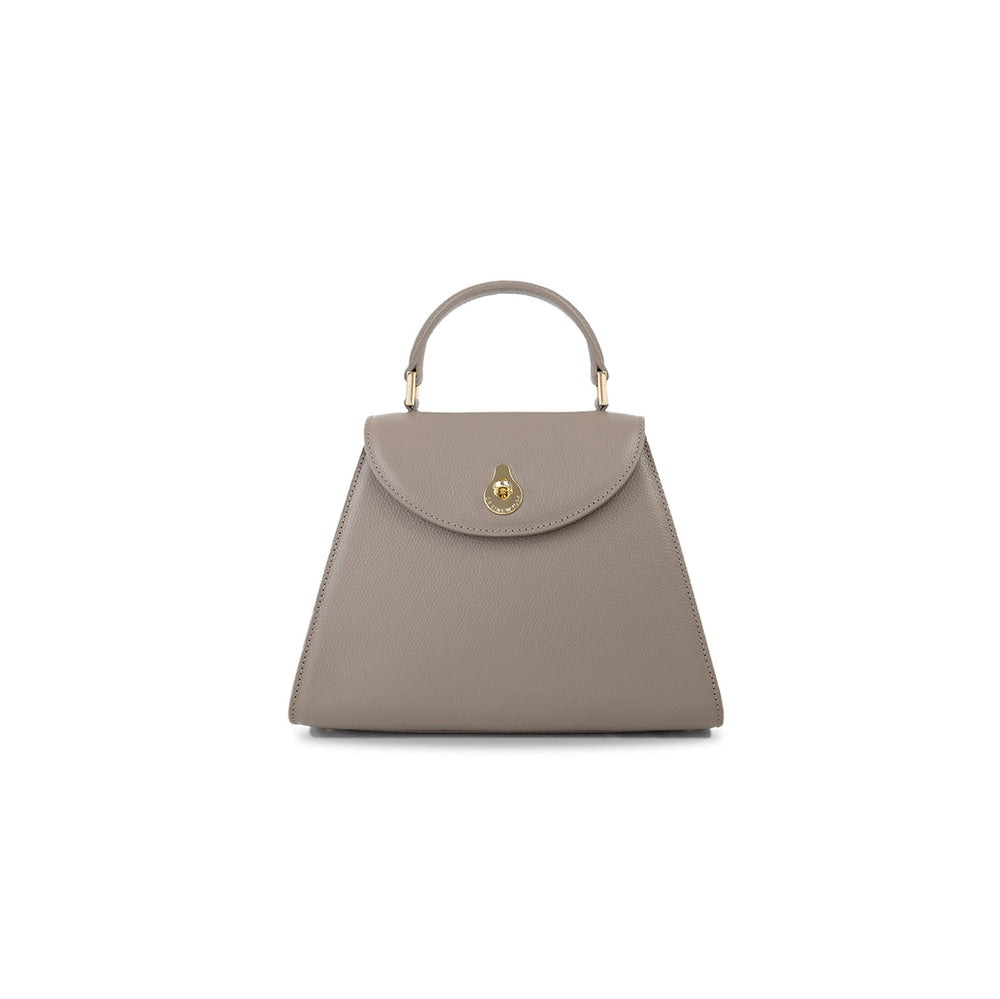 SMALL CALLA SATCHEL - BEIGE