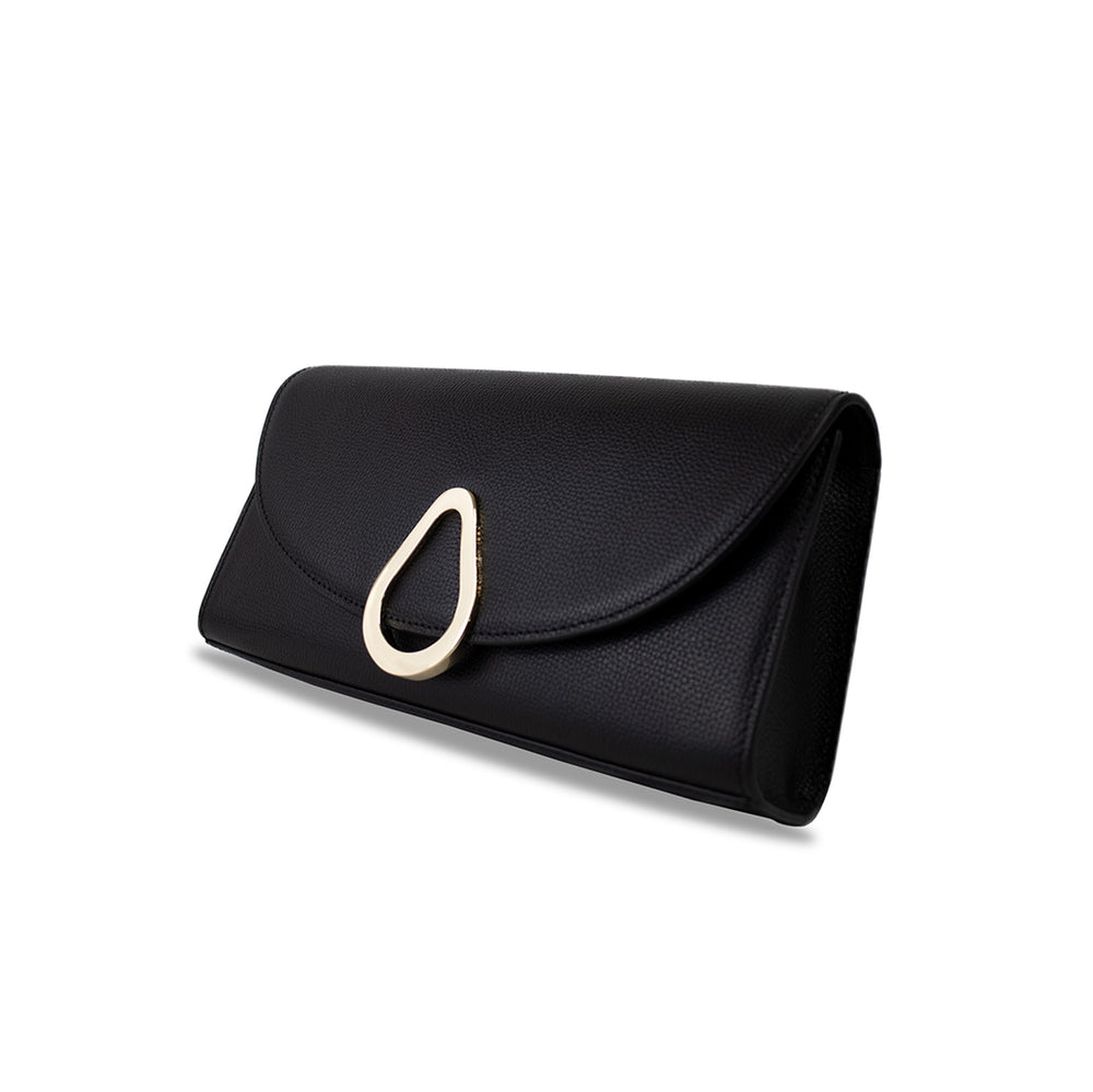 SILENE CLUTCH - BLACK